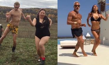 Лучшая деревенская пародия на танец итальянского миллионера