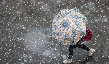 В воскресенье ожидается по всей территории дождь со снегом