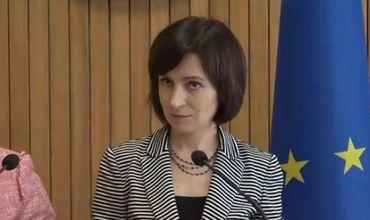 Майя Санду: Мы по-прежнему считаем, что Цуркан должен освободить должность в Конституционном суде