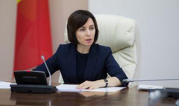 Майя Санду: Правительство не может остановить продажу аэропорта Кишинева