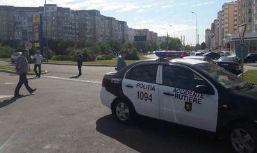 За эти выходные в Кишиневе 3 человека пострадали в ДТП. Фото: politiacapitalei.md.