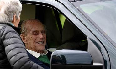 Супруг королевы Англии Елизаветы II герцог Эдинбургский попал в аварию