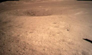 Китай показал посадку на обратную сторону Луны.