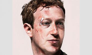 Избитого Цукерберга поместили на обложку американского журнала.
