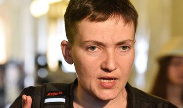 Надежда Савченко начала работу в ПАСЕ в Страсбурге