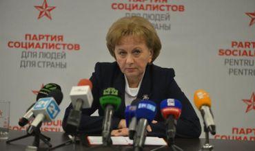 Председатель Партии социалистов Зинаида Гречаный.