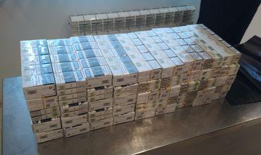 Пассажир рейса Кишинев-Лондон спрятал в чемодане 9 000 сигарет