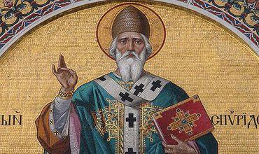 В Кишинев переехала Икона святого Спиридона Тримифунтского