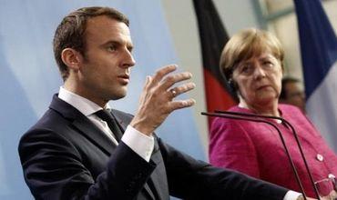 Меркель заявила, что у них с Макроном существуют различия в понимании ролей в Евросоюзе.