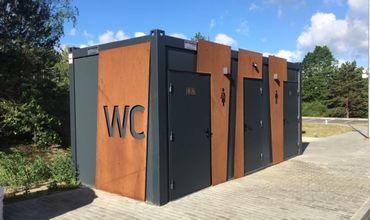 В 5 парках Кишинева построят 8 общественных туалетов.
