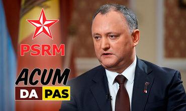 Додон готов принять альянс между ПСРМ и ACUM. Фото: tsargrad.tv