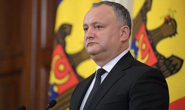 Игорь Додон: Избирательная кампания начнётся 20 августа