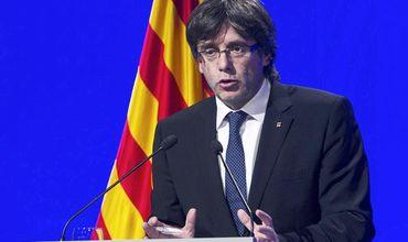 Глава автономного сообщества Каталонии Карлес Пучдемонт.