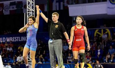 Анастасия Никита выступит на чемпионате Индии по борьбе.