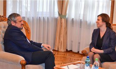 Вице-премьер Андрей Галбур встретился с послом Швеции в Молдове.
