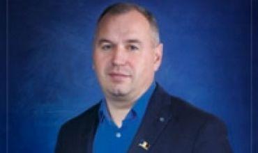 Председатель фракции «Наша партия» из муниципального совета Бельц Игорь Басистый.