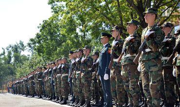 300 солдат из Кишиневского гарнизона принесли военную присягу