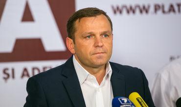 """Лидер Политической партии """"Платформа достоинство и правда"""" Андрей Нэстасе."""
