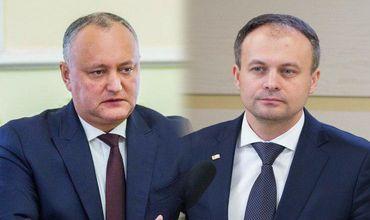 Президент Игорь Додон считает странным заявление председателя парламента Андриана Канду.
