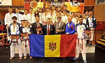 """Молдавские спортсмены проявили себя достаточно хорошо и на Кубке Мира """"Kohai World Cup"""", который прошел в городе  Эгер, Венгрия"""