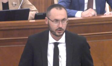Депутат от блока ACUM Сергей Литвиненко.