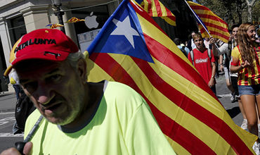 Каталонской полиции поручили препятствовать проведению референдума.