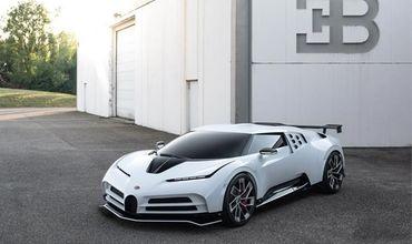 Появились фото гиперкара Bugatti за $8,9 миллионов