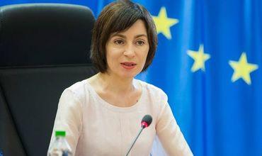 Майя Санду совершит визиты в Киев и Берлин
