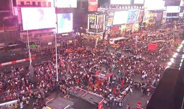 """""""Стреляющий"""" мотоцикл вызвал массовую панику на Таймс-сквер"""