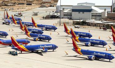 Кладбище самолетов Boeing 737 Max, полеты которых были запрещены, нашли в аэропорту Южной Калифорнии.