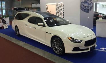 Maserati Ghibli превратили в катафалк
