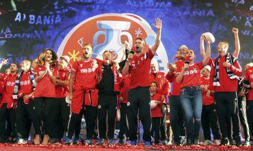 Встреча группы А, состоявшаяся в воскресенье, завершилась со счетом 1:0 в пользу албанцев.