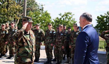 Президент представит командованию Нацармии нового министра обороны.