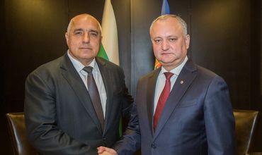 Президент Молдовы провел встречу с премьер-министром Болгарии.