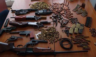 МВД за полугодие изъяло 835 единиц стрелкового оружия, хранившегося незаконно