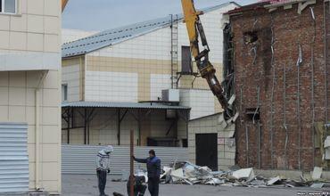 В Кемерово возобновили снос ТЦ «Зимняя вишня».