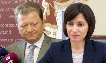 Санду раскритиковала назначение Цуркана на пост главы КС