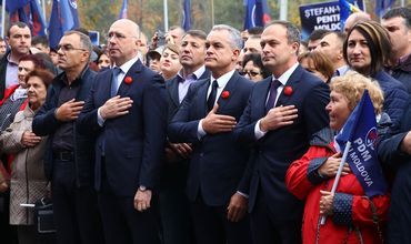 Демпартия опубликовала видеоролик: «Мы не сдадимся, не упадем».