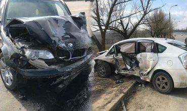 В ДТП на Хынчештском шоссе пострадали 2 человека
