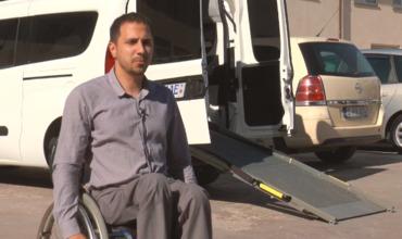 В Кишиневе появилось первое авто для лиц с локомоторными нарушениями