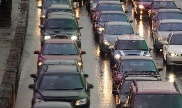 Вечером в Кишиневе затруднено дорожное движение.