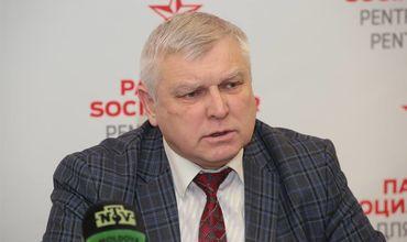 Кандидат в депутаты ПСРМ Олег Липский.