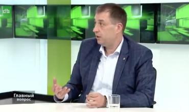 Юрист, советник президента Молдовы по межэтническим отношениям Сергей Мишин.