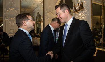 Глава МИДЕИ встретился с генеральным секретарем ОБСЕ