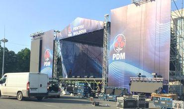 Демократы готовятся к проведению акции протеста в центре Кишинева.