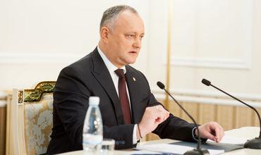 Игорь Додон высказался против строительства мечетей в стране