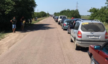 """На КПП """"Паланка"""" и """"Тудора"""" образовались километровые очереди"""
