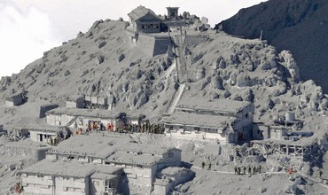 Извержение вулкана Ontake в Японии
