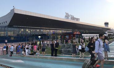 Аэропорт Кишинева заминировали: людей эвакуировали