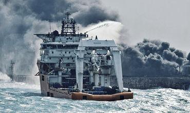 Китай, Иран и Панама разошлись во мнениях о причине крушения танкера Sanchi.